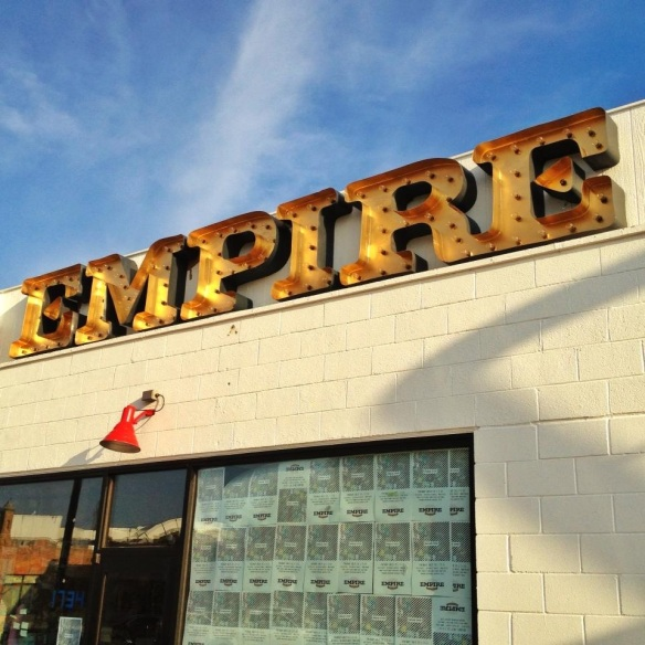 Empire Slice House Sign